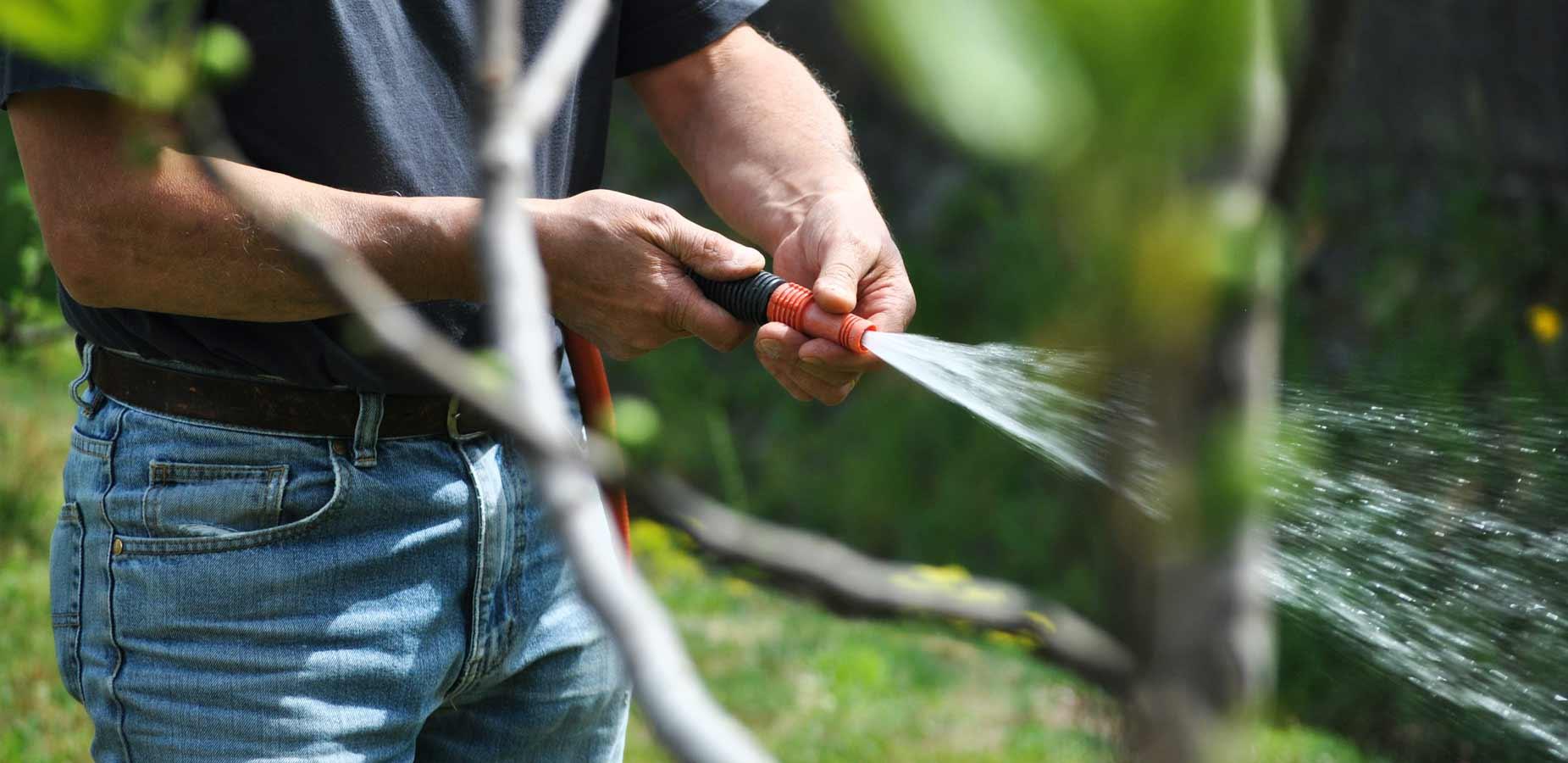 Garden watering equipment