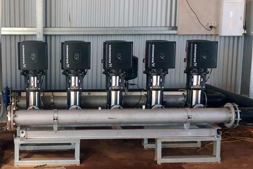 Installation - Grundfos-Water-Pump-System