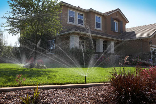 Residential Irrigation Design Services-using-hunter-sprinklers-and-nozzles